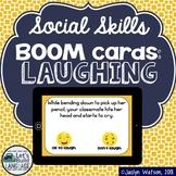Haha or Nah? Social Skills Boom Cards: Laughing   Distance