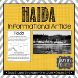 Haida: Indigenous (First Nations, Aboriginal) Cultures Informational Article