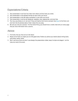 Haiku Overview and Project Guidelines