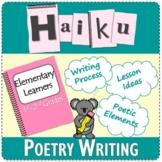 Haiku Poem | Poetry | Elementary Learners | 1st - 2nd Grade