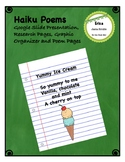 Haiku Poems - Research Pages, Circle Map, Practice Pages, Poem Pages