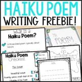 Haiku Poetry Freebie!