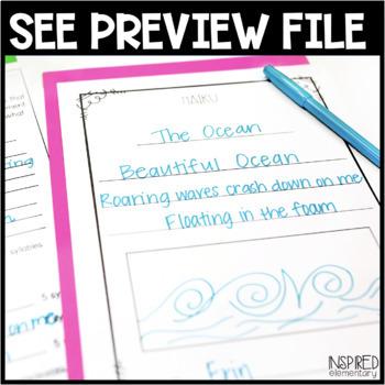 haiku poetry freebie by inspired elementary teachers pay teachers. Black Bedroom Furniture Sets. Home Design Ideas