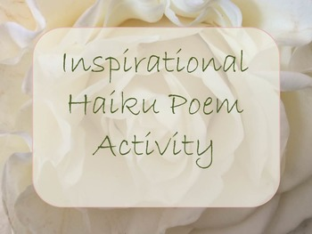 Haiku Poetry: Inspirational Package