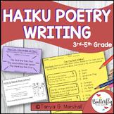 Haiku Poetry Activity Set | Haiku Poems | Haiku Poem Template & Writing