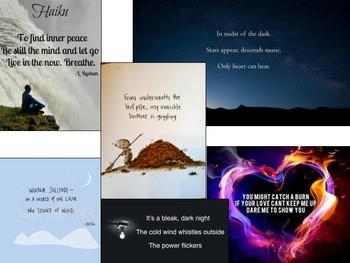 Haiku Poetry Worksheet