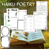 Haiku Poetry Worksheets and Writing Templates