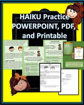 Haiku PowerPoint and PDF
