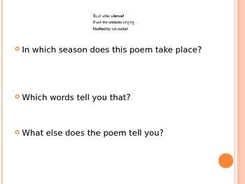 Haiku Powerpoint- Based on Informational Text