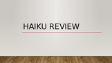 Haiku Review for Any Class