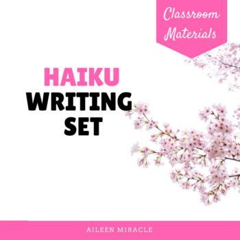 Haiku Writing Set