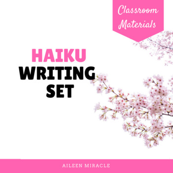 Haiku Writing Set