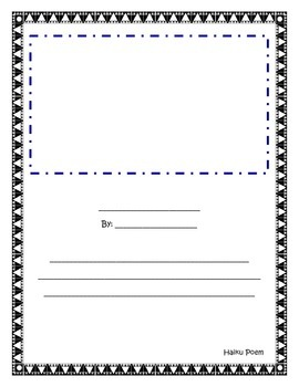 Haiku Writing Plan for Grades 1 – 2