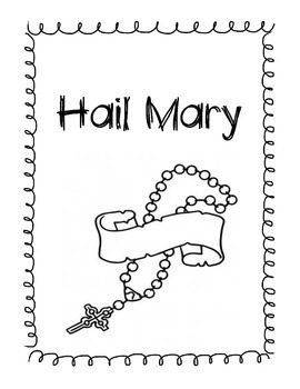 Hail Mary Booklet