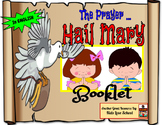 Hail Mary  Booklet and Activities-ENGLISH-Religion.