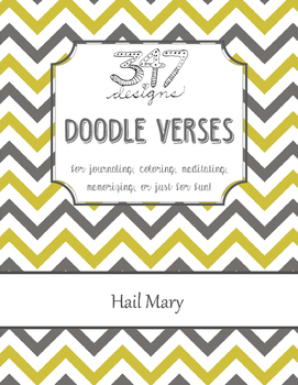 Hail Mary Doodle Verse