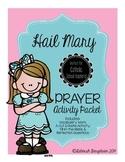 Hail Mary Prayer Activity Packet
