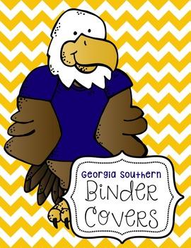 Hail Southern Binder Covers {Editable FREEBIE}