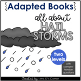 Hail Storm Adapted Book [ Level 1 and Level 2 ]   Severe Weather Books