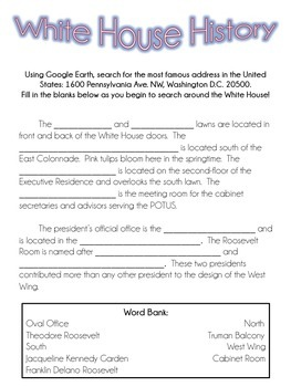 Hail to the Chief - President's Day Packet
