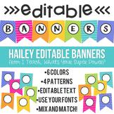 Hailey Editable Banner