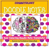 Hair Color Doodle Notes
