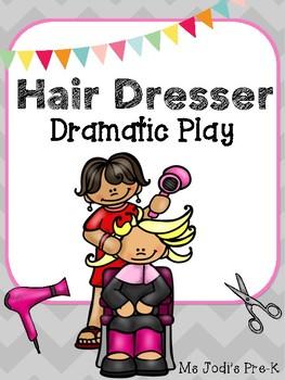 Hair Dresser Dramatic Play