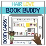 Hair Love Book Companion   Boom Cards™️ Deck   Teletherapy