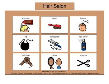 Hair Salon Bingo! [speech therapy and autism]