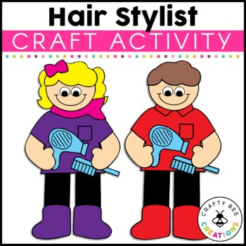 Hair Stylist Cut and Paste