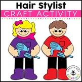 Community Helper Craft {Hair Stylist}