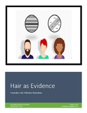 Hair as Evidence Review Worksheet