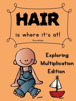 Hair is Where it's At--BUNdle (Number recognition, Addition and Multiplication)