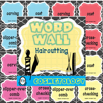 Haircutting Word Wall