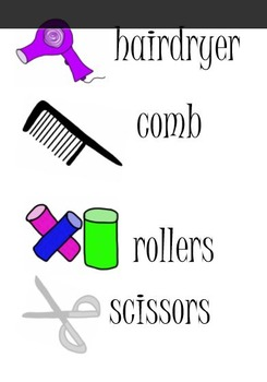 Hairdressers Dramatic Play Kit