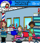 Hairdressing salon and barbershop- 107 graphics!
