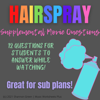 Hairspray Movie Questions