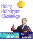 Hairy Hairdryer Challenge Activity Card - by Darin Carr C.R.P