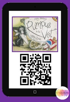 Hairy Maclary's Rumpus at the Vet QR Code Comprehension Pack