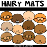 Hairy Mats:  Toothy™ Mats with a TWIST