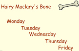 Hairy McClary's Bone Guided Reading Weekly Lesson Plan Four Blocks Literacy