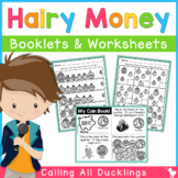 Hairy Money Coin Book and Worksheets