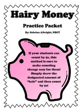 Hairy Money Math Packet- NO PREP