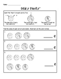 """Hairy Money"" Worksheet"