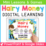 Hairy Money Smartboard and Powerpoint
