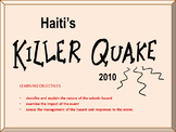 Haiti Earthquake Lesson