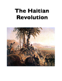 Haitian Revolution (Cloze and Project)