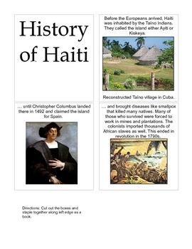 Haiti lapbook
