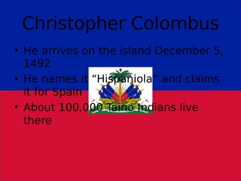 Haiti power point in English