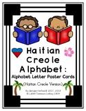 Haitian Creole Alphabet: Alphabet Letter Poster Cards (Hai